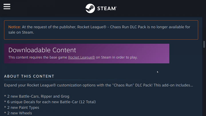 Steam will no longer sale three DLC.png