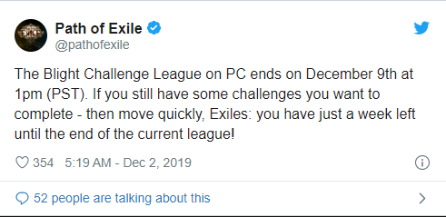 Path of Exile Blight Challenge League will end on December 9.jpg