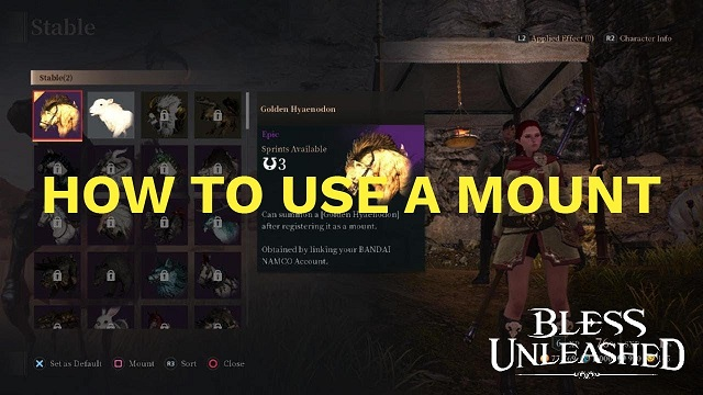 Bless Unleashed How to get on your mount and ways to unlock mounts.jpg