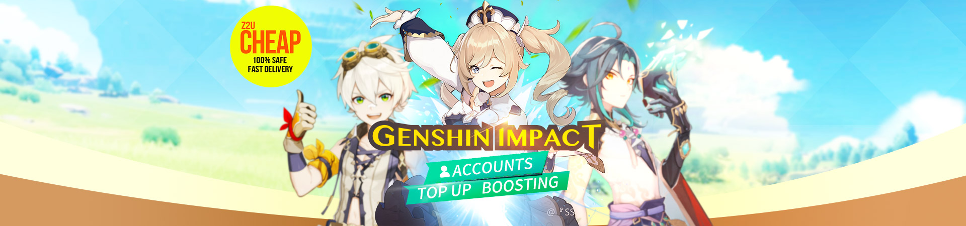 Genshin Impact Account