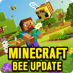 How to Find Bees & Get Honey in Minecraft