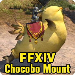 Final Fantasy XIV FF14 My Little Chocobo Companion: How to get a Chocobo Mount in FFXIV