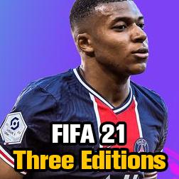 FIFA 21 Ultimate, Champions, Standard Edition Comparison, FUT 21 Price Guide