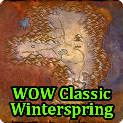 World of Warcraft Classic Guide : How to Get to Winterspring in WOW Classic