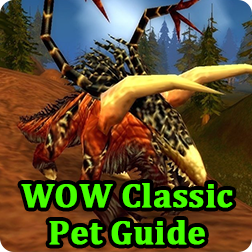 World of Warcraft Classic WOW Vanilla Guide and Tips: How to Feed Hunter Pet in WoW Classic