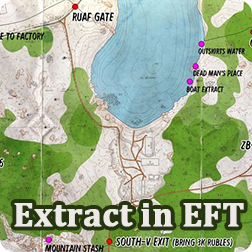 Escape From Tarkov Guide: How to Extract and Find Extraction Point Locations