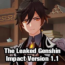Genshin Impact News: The Leaked Genshin Impact Version 1.1 Update