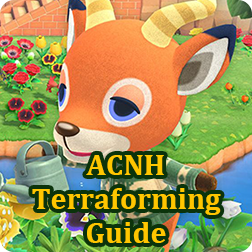 Animal Crossing Terraforming Guide - How To Unlock & Use Island Designer in ACNH