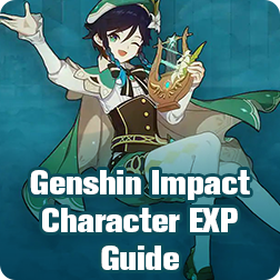 Genshin Impact Character EXP Grind Guide : How To Farm EXP Material In Genshin Impact?