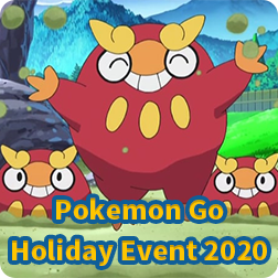 Pokemon Go: Holiday Event 2020 now is available; start time, bonuses, spawns and field research