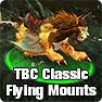Burning Crusade Classic Flying Mounts Guide: How to get WOW TBC Classic Flying Mounts